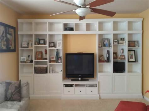 image built in wall shelves ideas