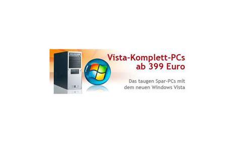 test vista test vista komplettrechner ab 399 pc magazin