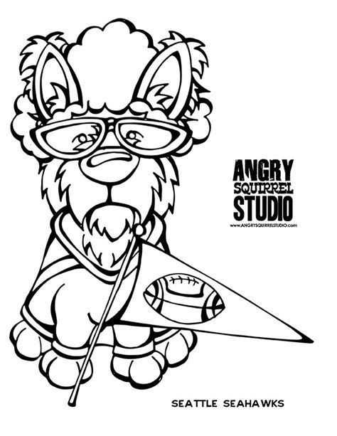 Seahawks Football Coloring Pages Www Imgkid Com The Seattle Seahawk Coloring Pages
