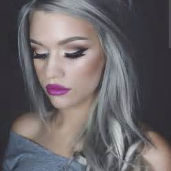looking with grey hair granny hair trend why young women are dyeing their hair