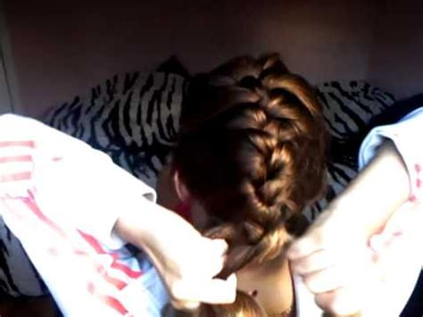 how to braid your own hair youtube how to french braid your own hair youtube
