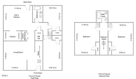 Upstairs Bedroom Layout Floor Plans Salisbury Student Housing