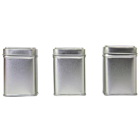 Powder Room Color Ideas tea tins square small set of three stampington