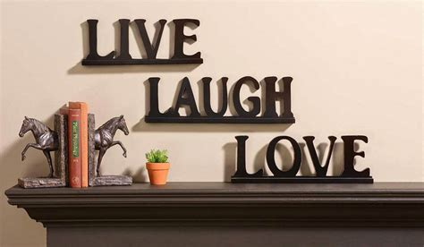 love decorations for the home decoration quot live laugh love quot at home suitable for inspiration