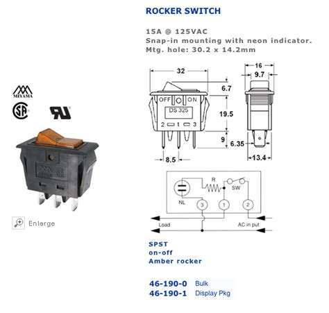 wiring diagram for 4 pin rocker switch www