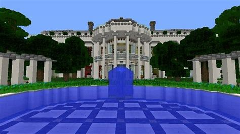 minecraft white house pin white house minecraft project on pinterest