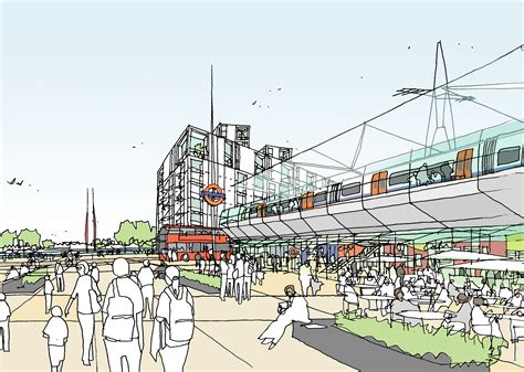 the barking overground will unlock potential of barking riverside londonist