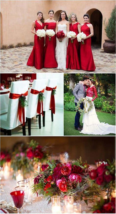 as melhores inspira 199 213 es para quem vai casar no natal - Decoração Arvore De Natal Vermelho E Branco