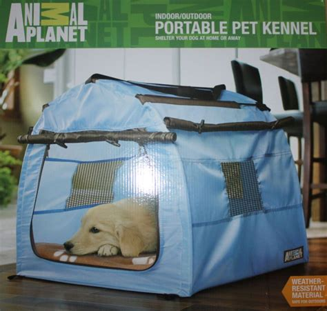 animal planet dog house animal planet portable dog pet kennel tent carrier house crate indoor on popscreen
