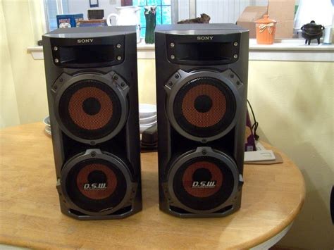 How To Make Home Decorations 2 sony dsw stereo super sub woofers everything new to you