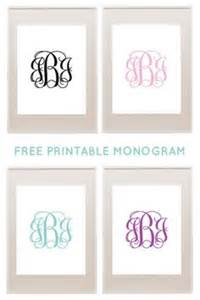 Free Monogram Templates 1000 Images About Mallen On Pinterest Star Template
