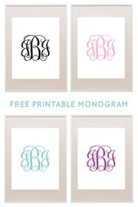 free monogram template 1000 images about mallen on template