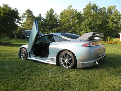 mitsubishi eclipse 1995 custom purchase used custom 1995 mitsubishi eclipse car