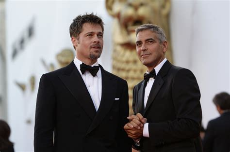 Brad Pitt George Clooney Do Entertainment Weekly by What Did Brad Pitt Offer The Clooney