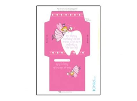 printable tooth fairy envelope print off this colourful envelope template for your child