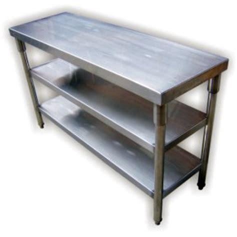 Stainless Steel Worktable with Undershelf 2 / 3 Tier