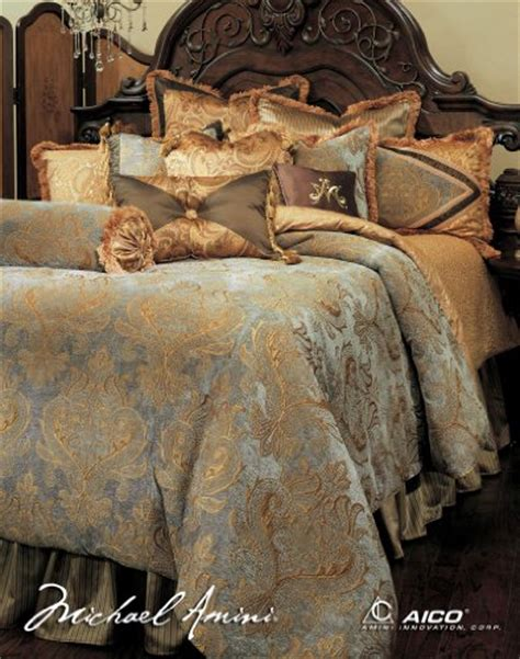 luxurious gold bedding sets