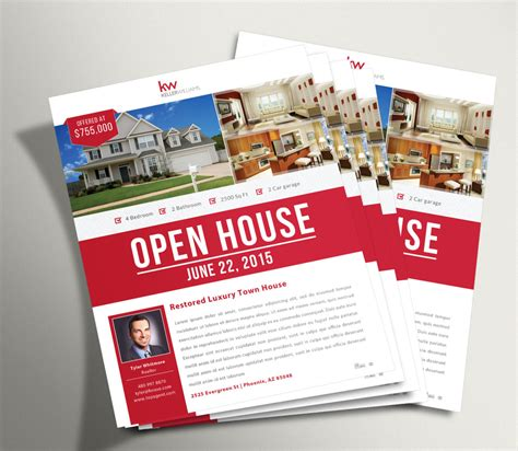 open house flyers custom marketing materials 10 ea unlimited revisions