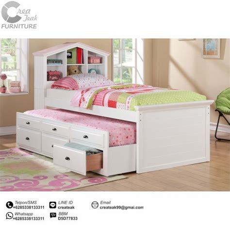 Dipan Kasur Anak dipan minimalis anak timika createak furniture createak furniture