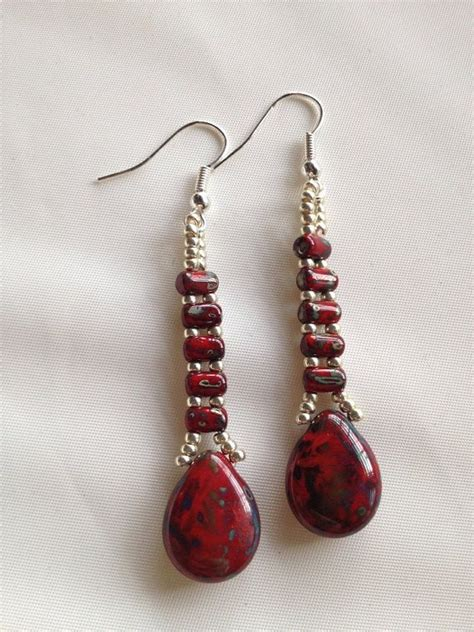 images of beaded earrings 1000 images about beading earrings on