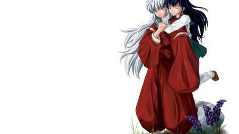 wallpapers hd anime inuyasha kagome wallpaper 45 images