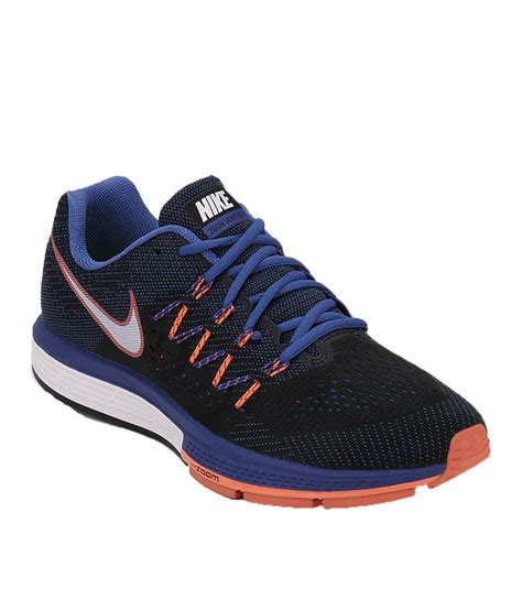 nike air zoom vomero 10 navy blue running sport shoes
