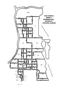 chicago map 1920 1920