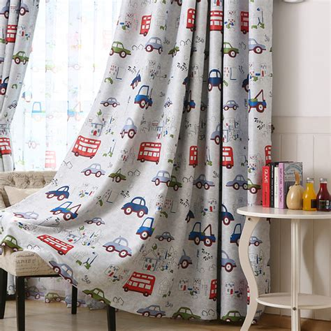 myru blue castle shade cloth curtain childrens bedroom online buy wholesale curtains baby room from china
