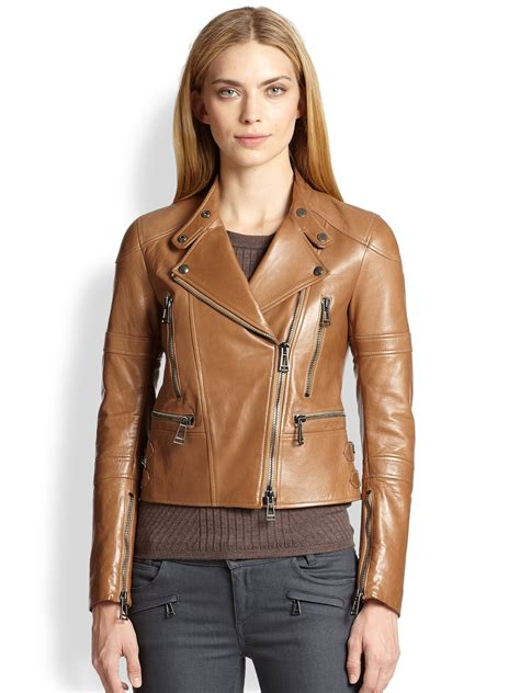Womens Brown Moto Jacket Jackets Review