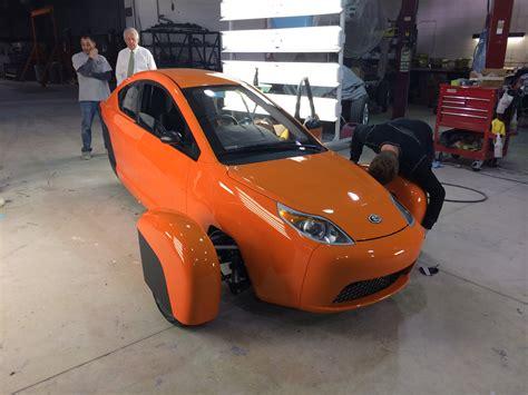 Three Wheel Car Usa by 84 Mpg Three Wheel 7000 Car Made In Usa Due In 2015