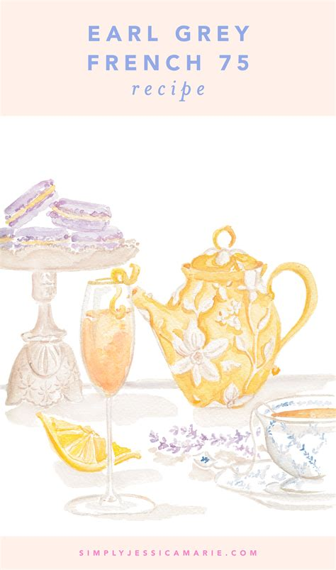 french 75 recipe card blog simply jessica marie