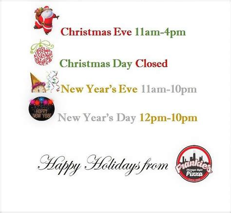 printable christmas hours sign holiday closing signs the best holiday 2017