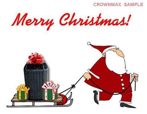 merry christmas hvac christmas cards crownmaxcom