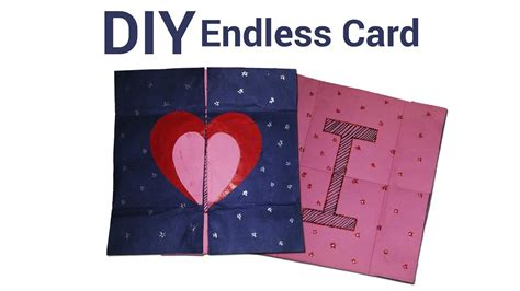 how to make a endless card how to make an endless card how to make never ending card
