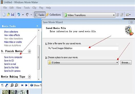 windows movie maker tutorial slideshow how to make a slideshow video of my image collections with
