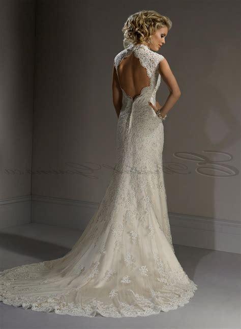 Lace A Line Dress a line lace wedding dresses naf dresses