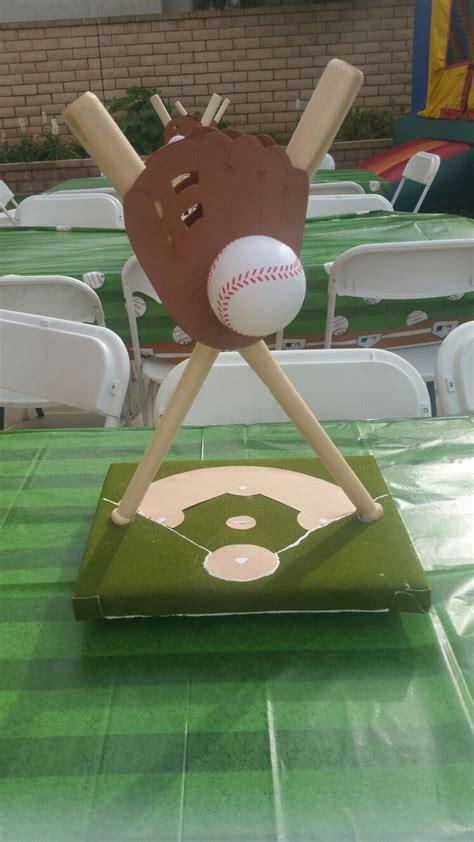 best 25 baseball centerpiece ideas on