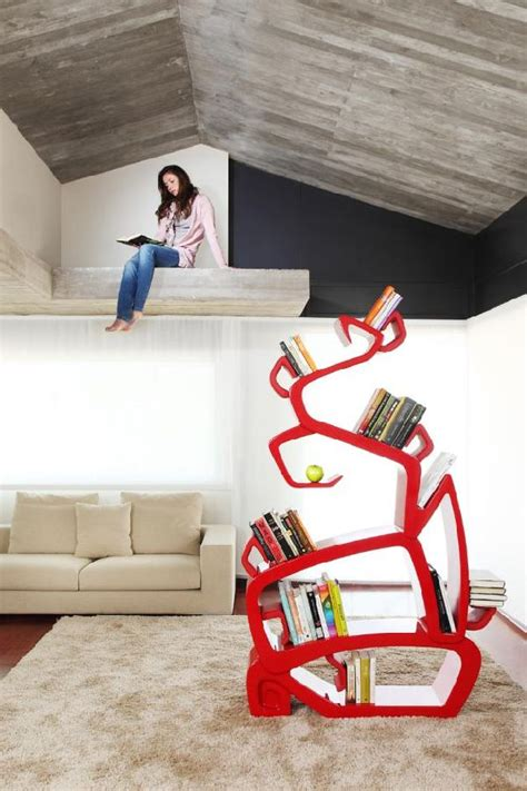 wisdom tree bookshelf an unconventional bookshelf by jodi