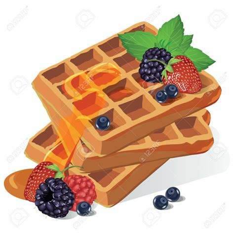 waffles color waffle clipart vector pencil and in color waffle clipart