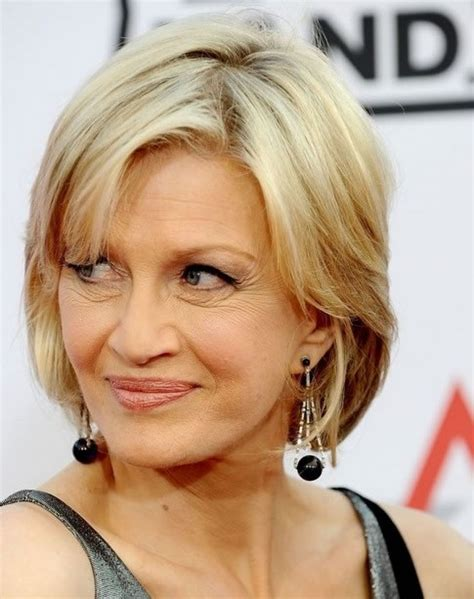 age 50 and hairstyles diane sawyer chin length hairstyles for women over age 50