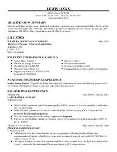 Chemical Plant Operator Cover Letter by Chemical Operator Resume Exles Pictures To Pin On Pinsdaddy
