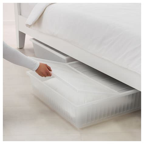 ikea storage beds gimse bed storage box white 65x70 cm ikea