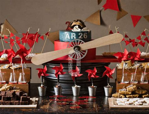 Vintage Airplane Birthday Decorations by Vintage Airplane Birthday Quot Vintage Airplane Dessert