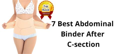 How To Reduce Tummy After C Section Delivery by Abdominal Binder For Weight Loss