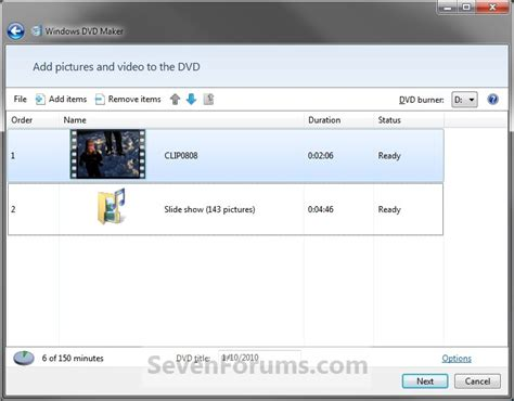 tutorial how to use windows movie maker windows dvd maker how to use windows 7 help forums
