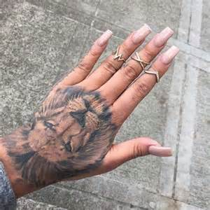 lion hand tattoo design tattoo shortlist