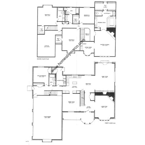 english manor floor plans english country manor model in the daybreak farms