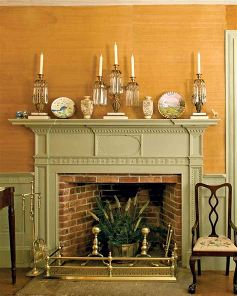the history of the fireplace house