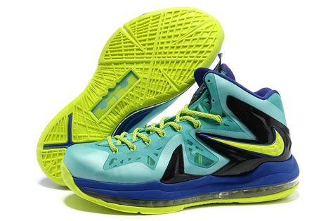 green basketball shoes purchase lebron x elite series mens basketball shoes green