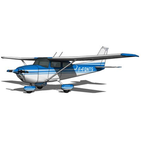 Cessna 172 Ceiling by Cessna 172 Textured Set 3d Model Formfonts 3d Models